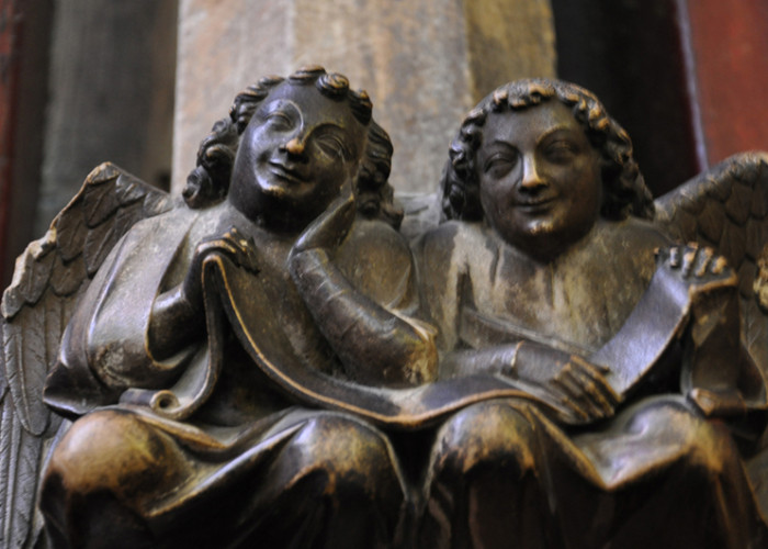 Angels at the Sainte Chappelle