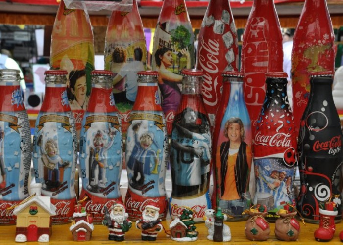 Coke Bottles at San Telmo Antique Market