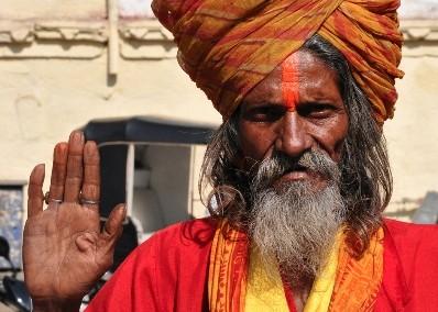 Indian Sadhu, Rajasthan