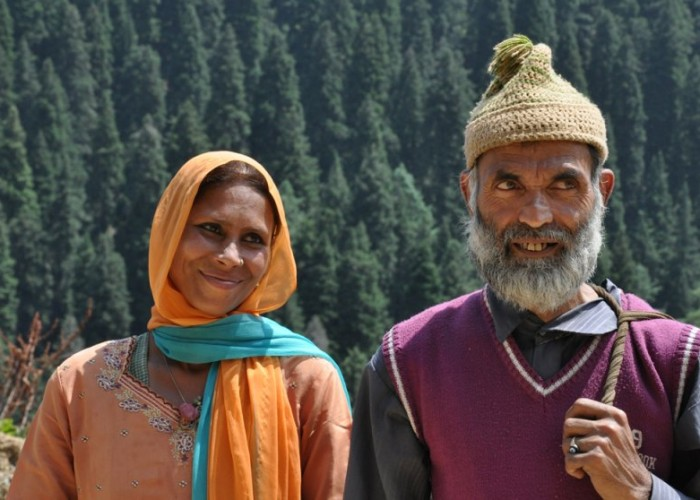 Kashmiri couple