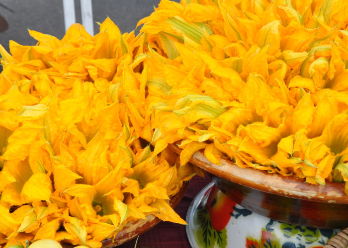 Zucchini Flowers Santa Fe Farmers Market