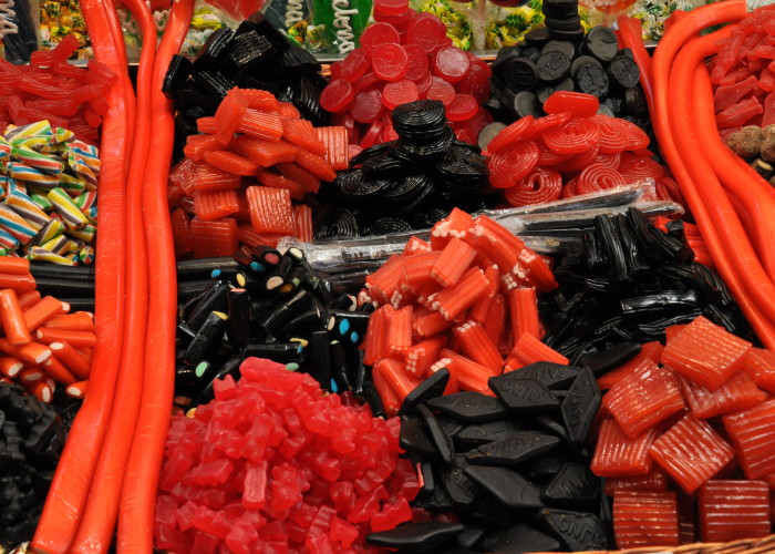 Licorice at the Boqueria Market