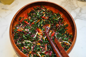 kale-salad-with-cabbage-and-carrots