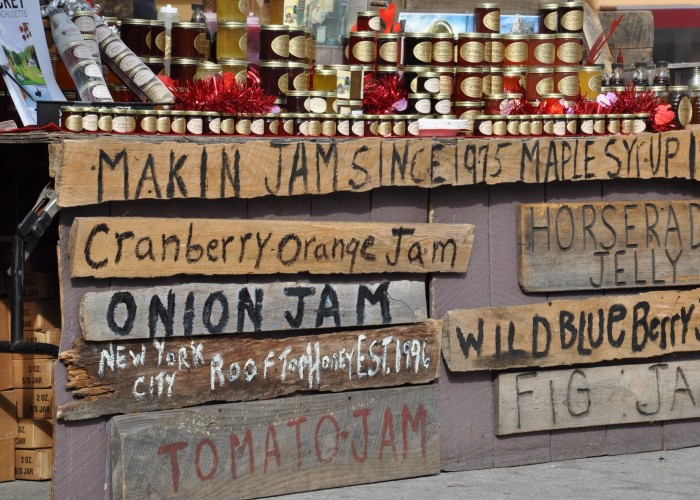 Jams, Union Square Farmers Market