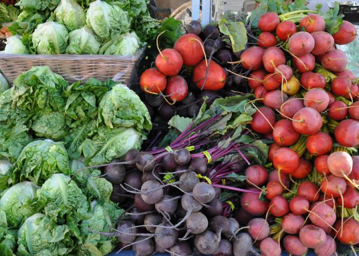Beets & Radishes, Fort Mason Farmers Market, San Francisco