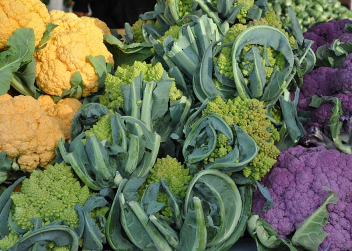 Cauliflower, Fort Mason Farmers Market, San Francisco