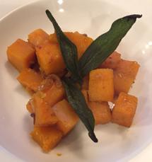 Sautéed Squash with Crisp Sage Leaves | Live Eat Cook Healthy