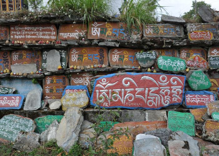 Spiritual Stones, Tashiding Monastery, Sikkim