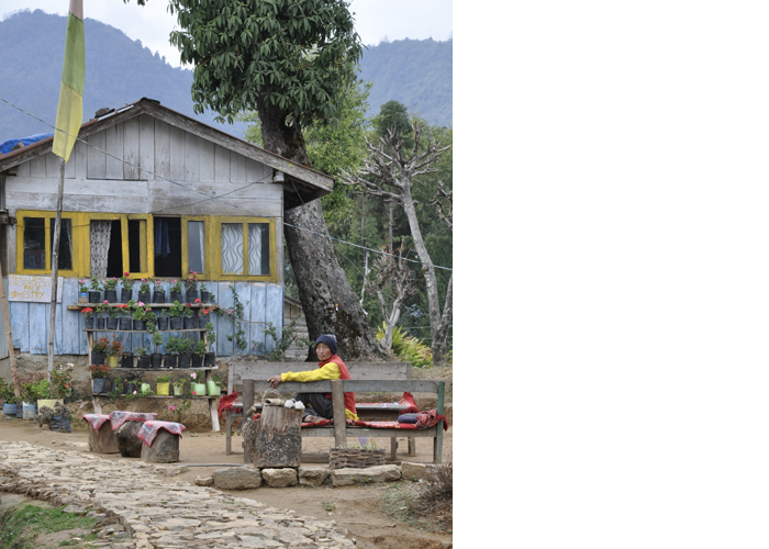 Village House, Kecheorapali Lake, Sikkim