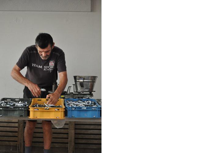 Fishmonger, Trogir