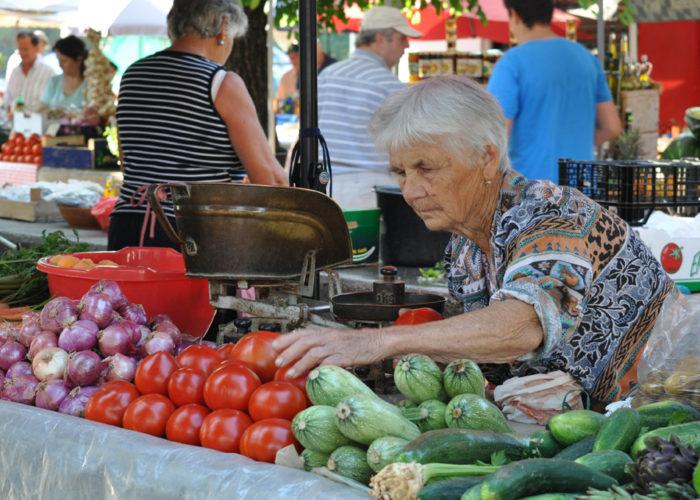 Trogir Market