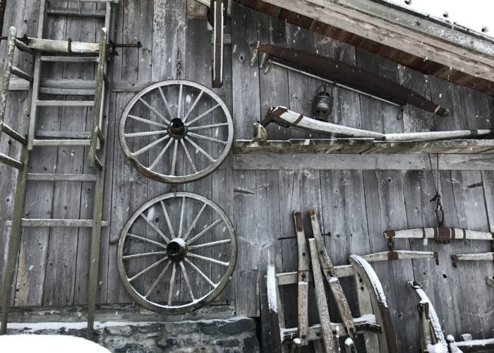 Barn Tools, Lauterbrunnen Valley, Switzerland