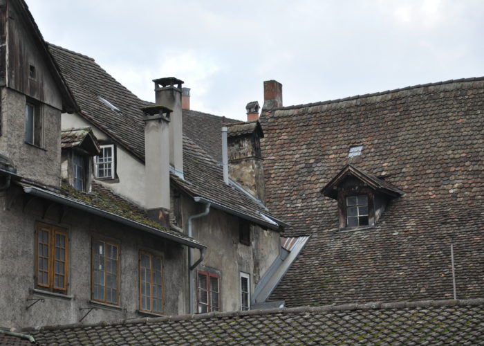 Rooftops of Schaffhausen, Switzerland