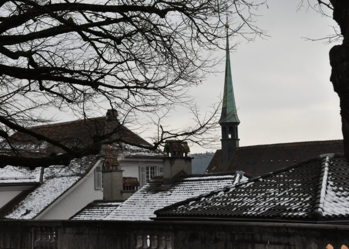 Rooftops of Solothurn, Switzerland