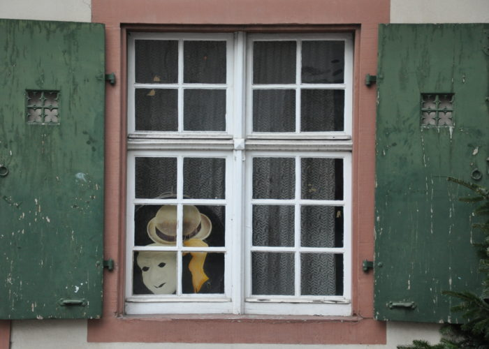 Window Detail in Basel, Switzerland