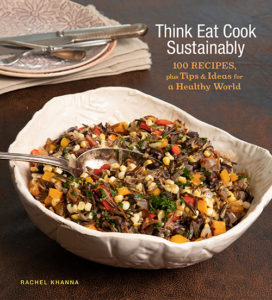 Think Eat Cook Sustainably book cover